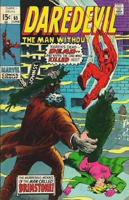 Daredevil #65, Brimstone