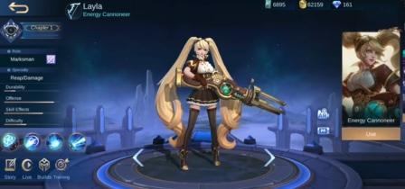 Hero Layla Revamp