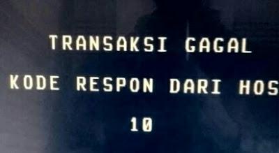 Kode Respon dari Host 10