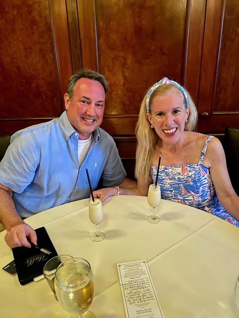 maryland blogger influencer ltktravel halls chophouse lilly pulitzer dress charleston