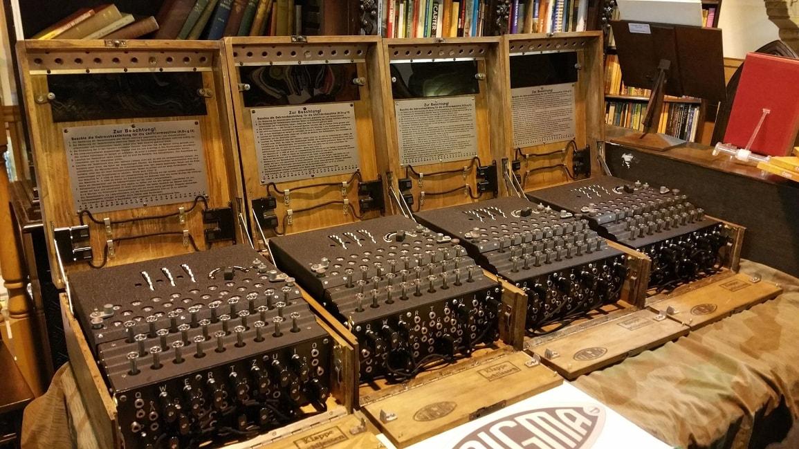 Qual o número total de configurações para a Máquina Enigma?