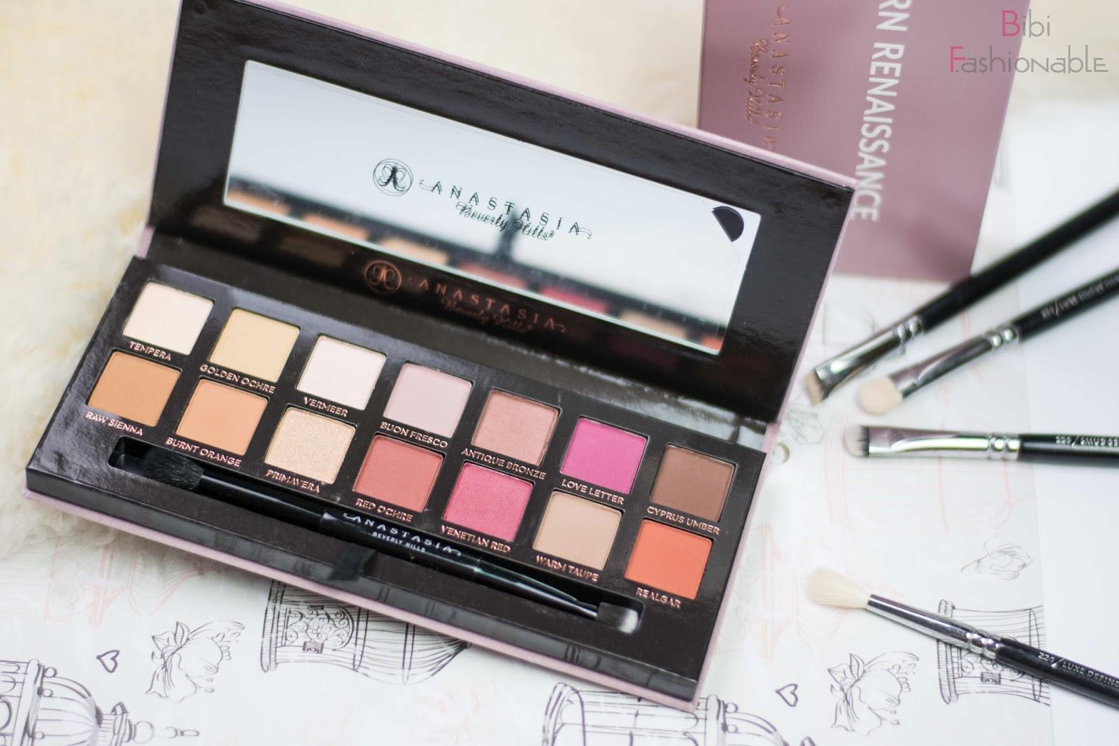Anastasia Beverly Hills Modern Renaissance Eyeshadow Palette offen