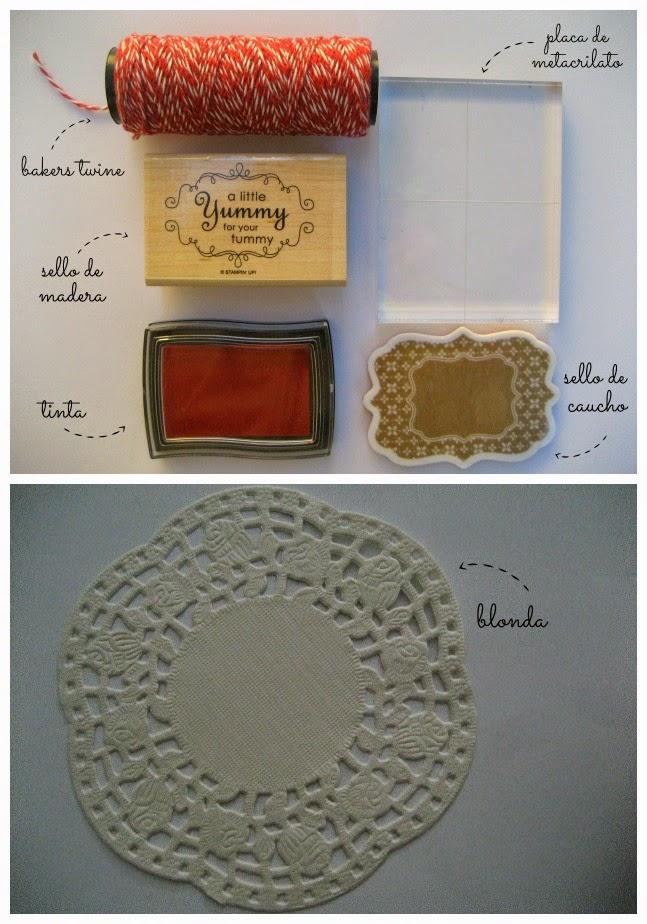 Materiales para hacer una etiqueta