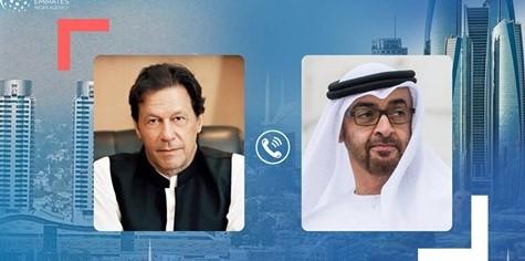 پی آئی اے کریش: شیخ محمد نے پاکستانی وزیر اعظم عمران خان سے تعزیت کی