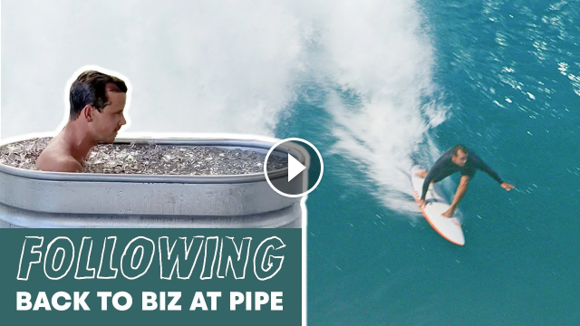 This Is How You Master Pipeline FOLLOWING Ep3 Julian Wilson