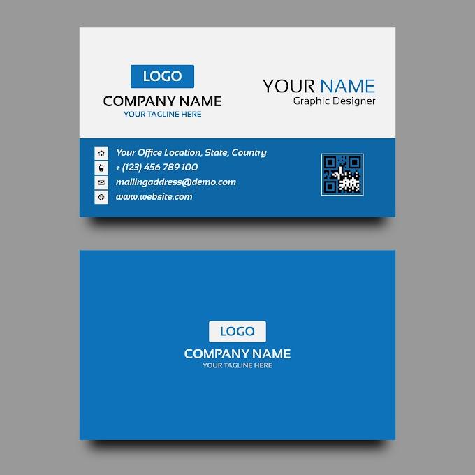 Free Corporate Business Card Design Template