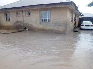 Residents displaced in Minna flood
