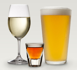 Alcohol-based beverages - Source: niaaa.nih.gov