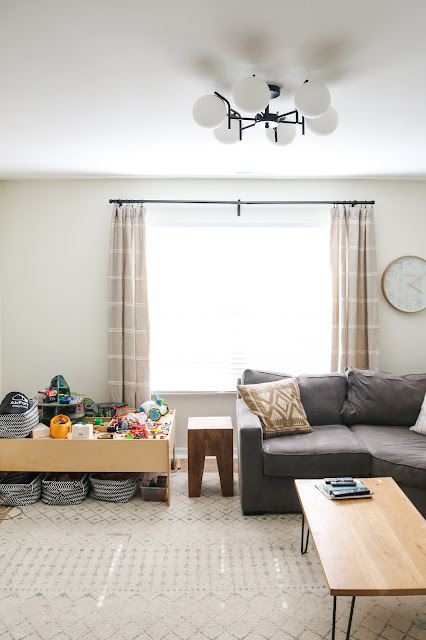 A casual and relaxed bonus room with COLOR and personality- ORC Week 1