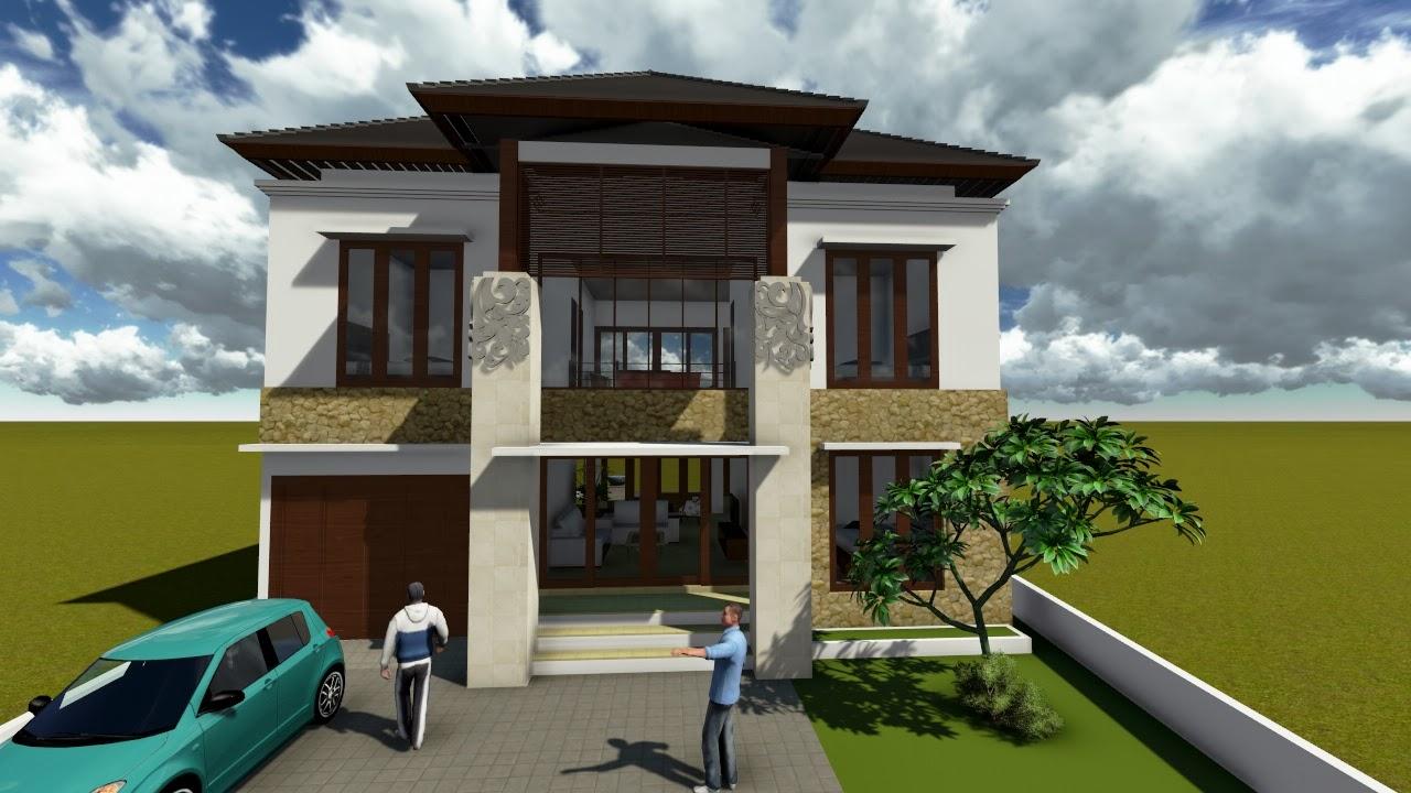 Desain Rumah Minimalis 2 Lantai Modern Desain Rumah