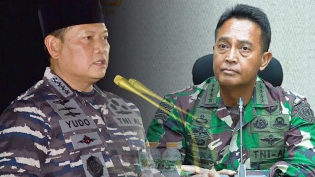 Andika Perkasa dan Yudo Margono Disebut Bermanuver untuk Kursi Panglima TNI