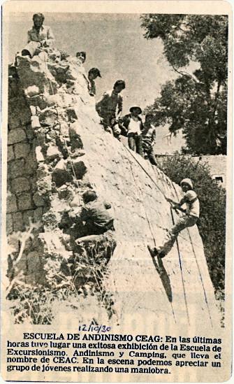 Publicacion en el Diario 12 de Octubre 1980