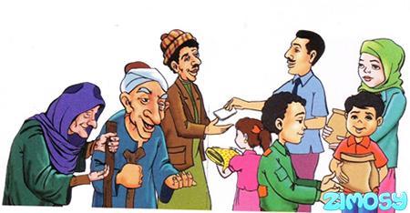 Gambar Doa Niat Zakat Fitrah