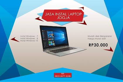 Jasa Instal Ulang Windows Laptop Murah dan Bergaransi di Jogja