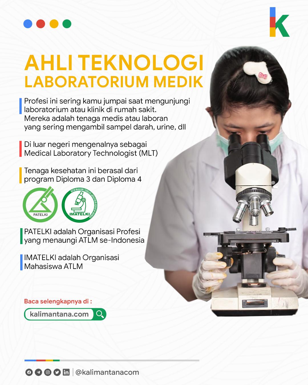 Infografis ATLM - Analis Kesehatan