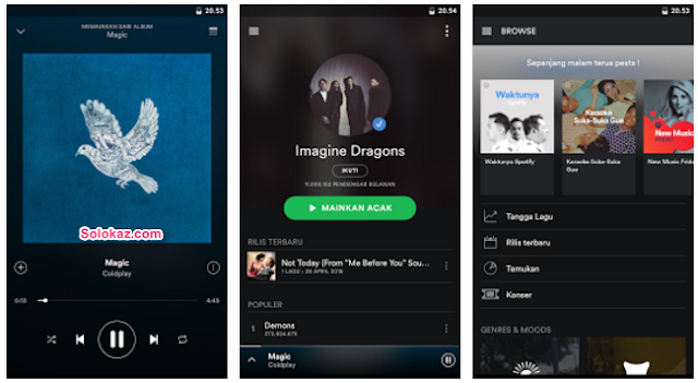 Spotify Music Mod Apk premium