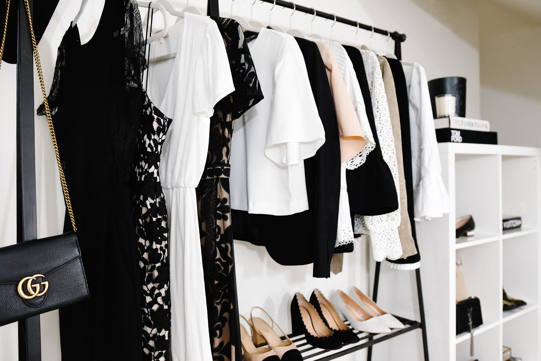 Tales from the dressing room | organised closet