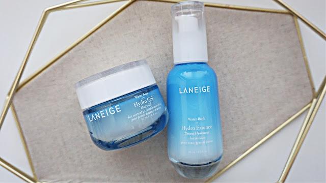 laneige Water Bank Hydro Essence, laneige water bank hydro gel, laneige summer skincare routine, laneige summer skincare, laneige skincare