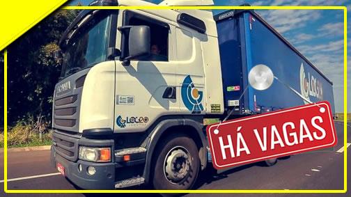 Transportadora Log20 abre vagas para Motorista caminhão Vuc