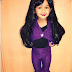 Chris Brown's daughter, Royalty's Halloween look is everything