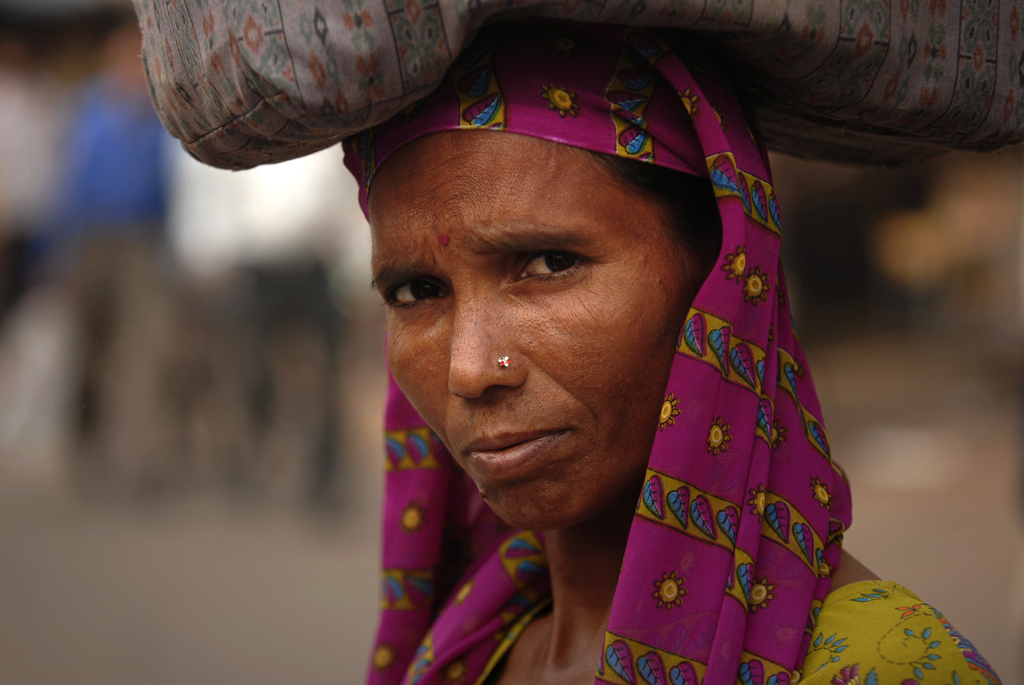 Photo of a woman in Delhi, India submitted to the weekly challenge 'Portraits' on Better Photography.