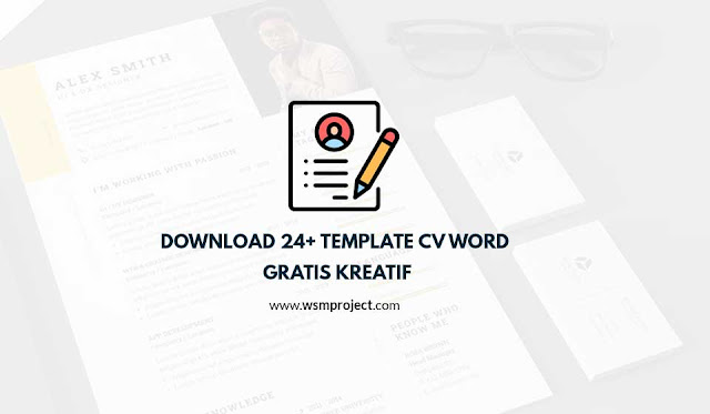 download template cv word