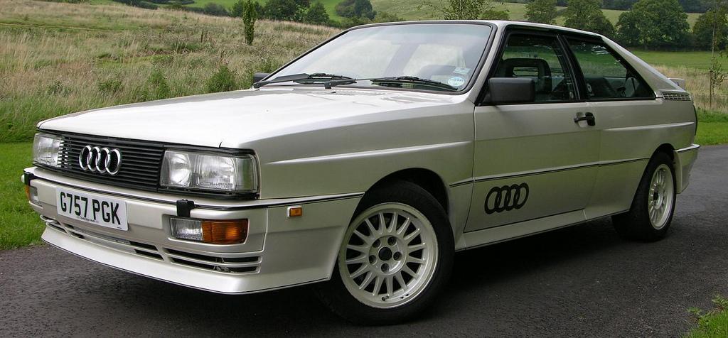 FAB WHEELS DIGEST (F.W.D.): Audi Quattro Coupe (1980-91)