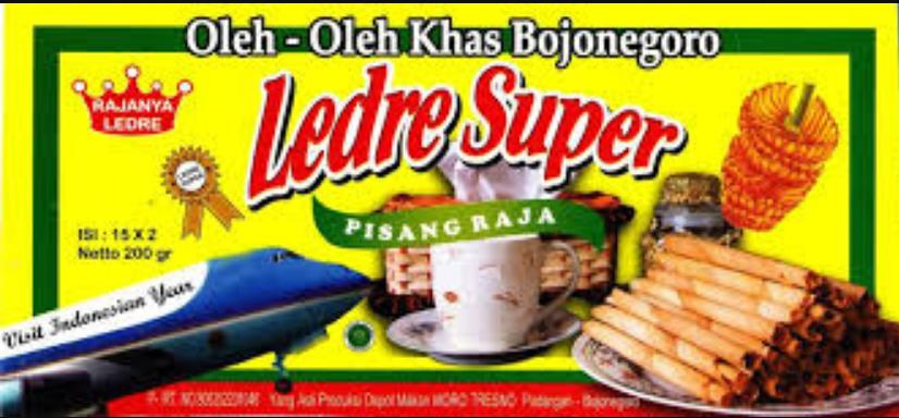 Resep Ledre Pisang Khas Padangan Bojonegoro