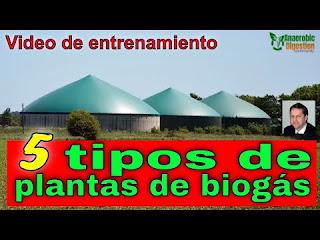 Tipos de planta de biogás