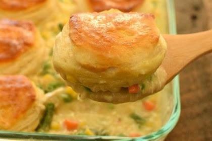Biscuit Chicken Pot Pie Delicious