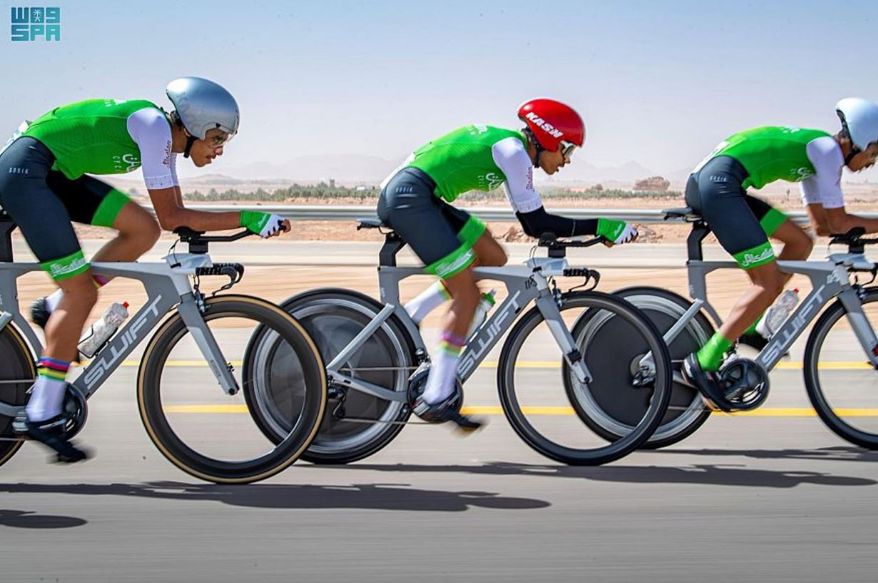السعودية تختتم المرحلة الأولى من البطولة الخامسة لدوري الدراجة الممتازة