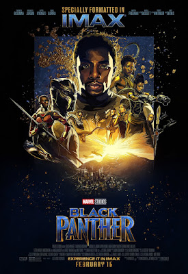 Marvel's Black Panther IMAX Theatrical One Sheet Movie Poster