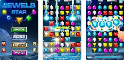 Game Android Kecil RAM - Jewels Star