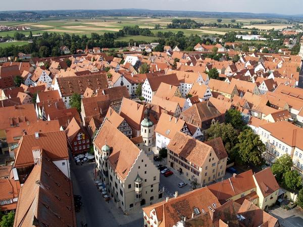 Vistas desde Daniel (Nördlingen, Alemania)