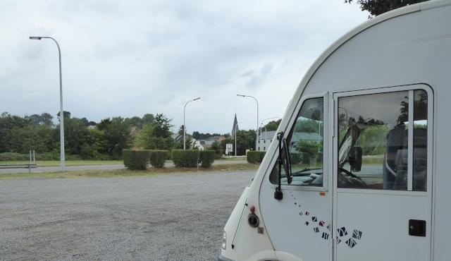Estacionament i pernocta a Ronquières