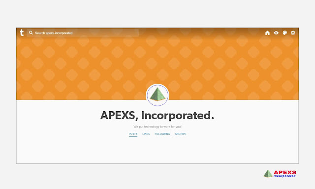 APEXS is reachable on Tumblr