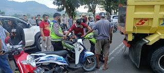 Sehari Jelang Ramadhan, Polisi Dan Tentara Di Gowa Amankan Ratusan Sepeda Motor