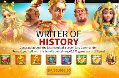 Writer of History Rise of Kingdoms