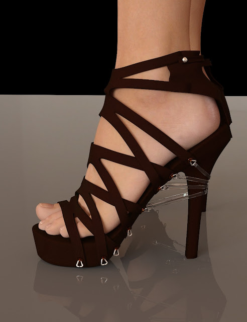 Strap Pump Heels for Genesis 3 Female