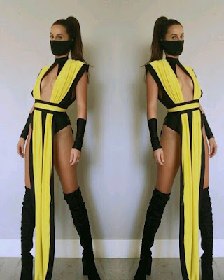 Scorpion costume women halloween