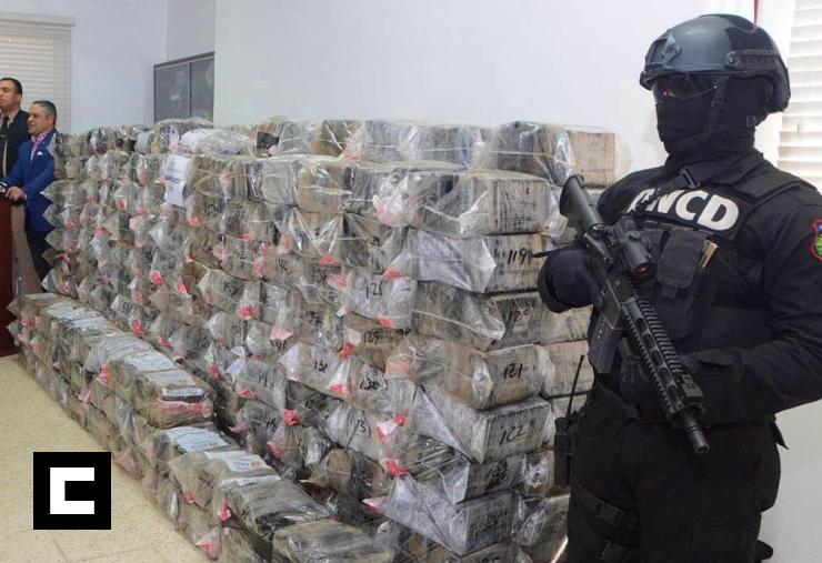 Cada semana llegan hasta 700 toneladas de cocaína a RD