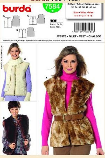Faux Fur Vest Pattern Books