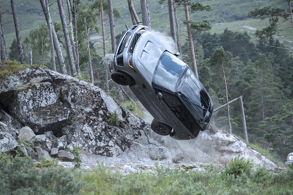 Range Rover Sport SVR makes an impact in new James Bond film