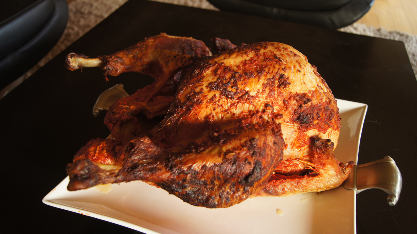 but what will steal the show will be the tandoori turkey this ...