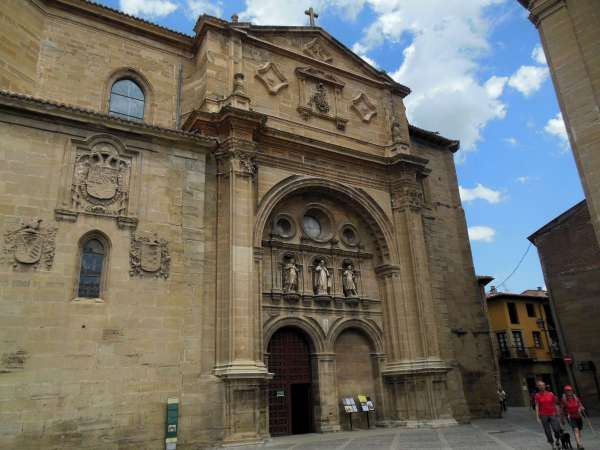Santo Dominigo de la Calzada, Camino, Jola Stępień