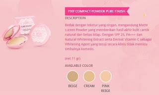 Keunggulan Dan Harga Bedak Pixy Terbaru Compact Powder