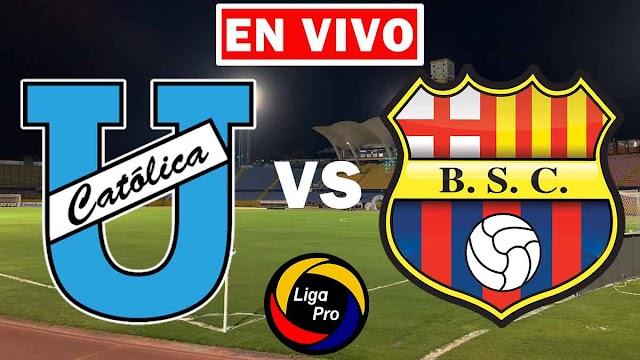 EN VIVO | Universidad Católica vs. Barcelona | Fecha 14 de la LigaPro 2021 ¿Dónde ver el partido en Tv online gratis en internet?