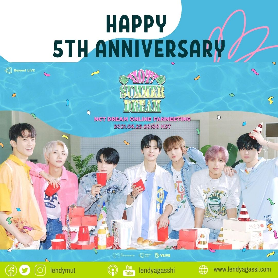 Happy 5th Anniversary With NCT DREAM