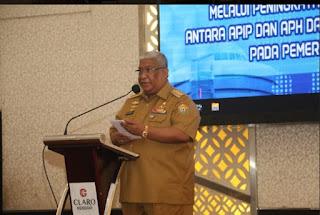 Gubernur Sultra Membuka Seminar Strategi Pencegahan Korupsi