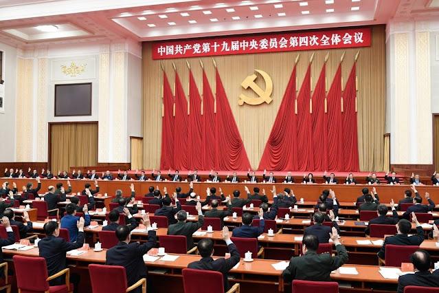 """A Politburo da China prometeu evitar a """"expansão desordenada do capital"""" - uma implicação de que o capital ganhou demais e deve ser restringido. Foto: Xinhua"""